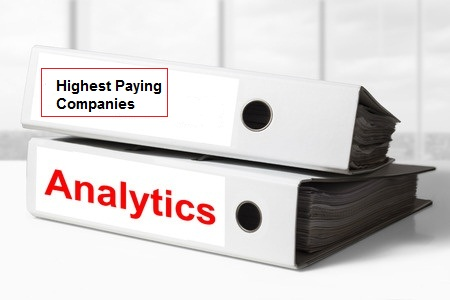 List of Top10 Highest Paying Analytics Companies in India